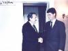 Felix Pando and Raul Alfonsin